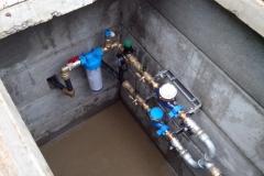 Zaregulovanie tlaku a filtracia vody